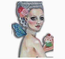 Let them eat cake  - Marie Antoinette as Faerie Godmother by KimTurner