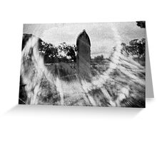 White Hills Cemetery Greeting Card