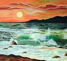 Sunset Glow by ienemien