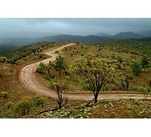 Razor Back Storm, Flinders Ranges Photographic Print
