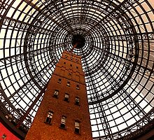 Open Star Bay Doors - Coops Shot Tower Angle 5, Melbourne by Philip Johnson