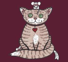 Cat n Mice Tee by Anita Inverarity