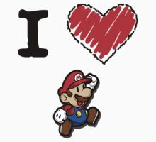 I Love Mario by Lorie Warren
