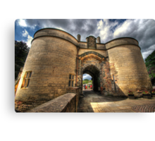 Nottingham Castle Canvas Print