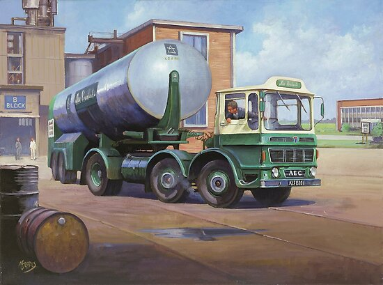 AEC Mammoth Minor artic. by Mike Jeffries