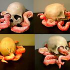 custom skull by Xtianna