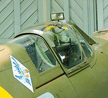 Spitfire Vb - JHC - Duxford by Colin J Williams Photography