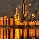 Chicago Sears Tower by Ted Lansing