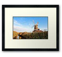 Cley Windmill Norfolk Framed Print