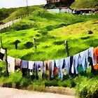 Colorful Laundry # 2 by Esperanza Gallego