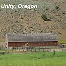 Old Cattle Barn - Unity, Oregon by Betty E Duncan © Blue Mountain Blessings Photography
