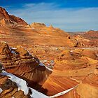 Winter in Coyote Buttes by Dick Paige