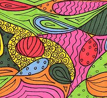 Color My World 3 by Rosie Brown