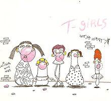 T-Girls  by bluestew