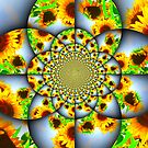 Dizzy Sunflowers by Debbie Robbins