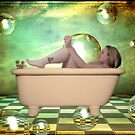 Bathe outside your mind by Teresa Williams