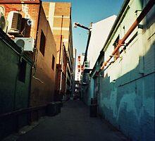Blue Lane by Liz Odds&All