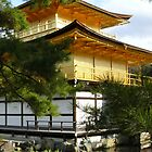 Kinkaku-ji, Kyoto by helenmentiplay