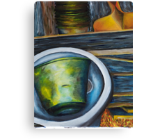 Junk - Romsey Farm Shed Canvas Print