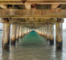 Below the Pier by Vickie Burt
