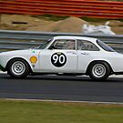 Alfa Romeo Giulia Sprint by Willie Jackson
