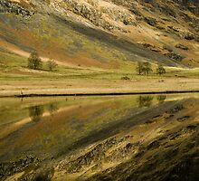 Reflecting on a Loch by Peter Doré