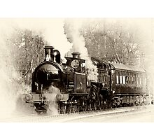 Vintage Steam Photographic Print