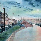 Expanse Hotel and North Beach, Bridlington by Glenn Marshall