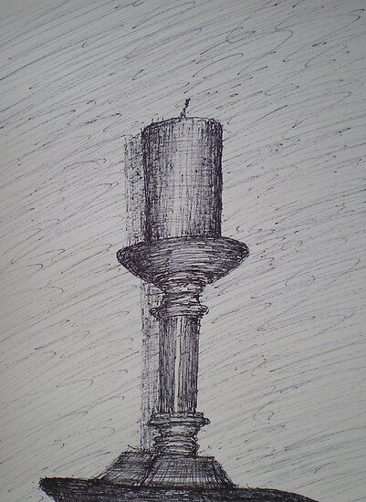 Candle Stick by W. H. Dietrich