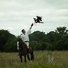 Medieval England - Falconer by Peter Barrett