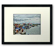 Jubilee Quay  Framed Print