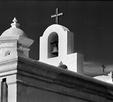 San Xavier del Bac Mission by Susan Chandler