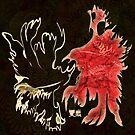 yin yang crow by DreaMground