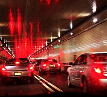Lincoln Tunnel by christina chan