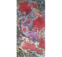 Red Magma Photographic Print
