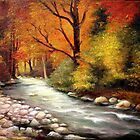 Autumn in Forest by Sorin Apostolescu