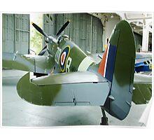 Spitfire Mk IX MH434 - Duxford Poster