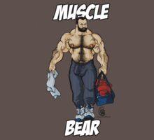 Muscle Bear by MancerBear by mancerbear