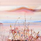 Pink Hill- Lake Camm near Lake King, Western Australia by Carollyn Rhodes-Thompson
