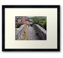 My England. Packhorse Bridge at Allerford Framed Print