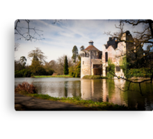 Scotney Castle: Kent, England, UK. Canvas Print