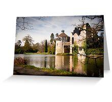 Scotney Castle: Kent, England, UK. Greeting Card