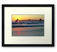 A Perfect Ending to a Perfect Day Framed Print
