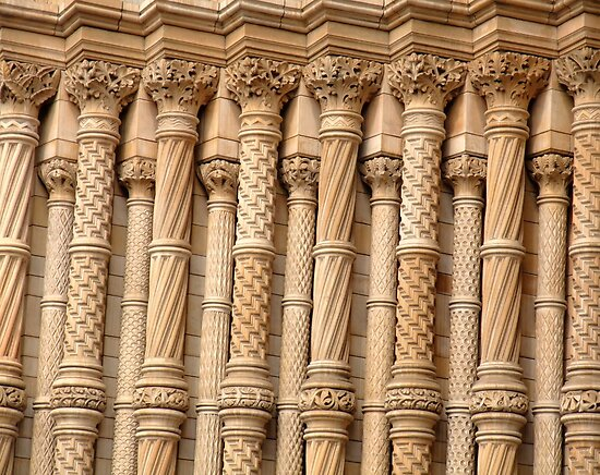 Columns of a museum by MichelleRees