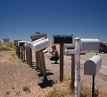 Mailbox Party In Arizona by sarafureymagee