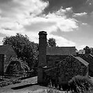Cheddleton Flint Mill B&W by Aggpup