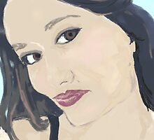me, digital painting- using corel painter 11 by Esoterikdesigns