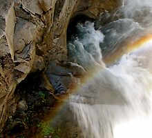 Christine Falls - Mt. Rainier National Park by Britland Tracy