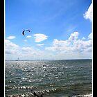 Kite Surfer by Russ  Shepherd