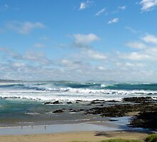 Woolgoolga Beach - NSW by Lianne Wooster